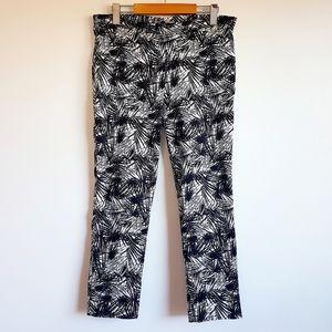Black + White Pants